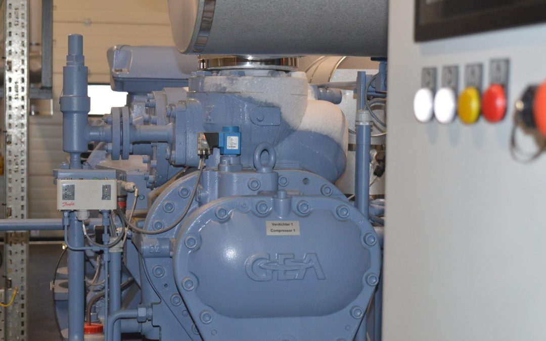 How do refrigerants work and cool an area?